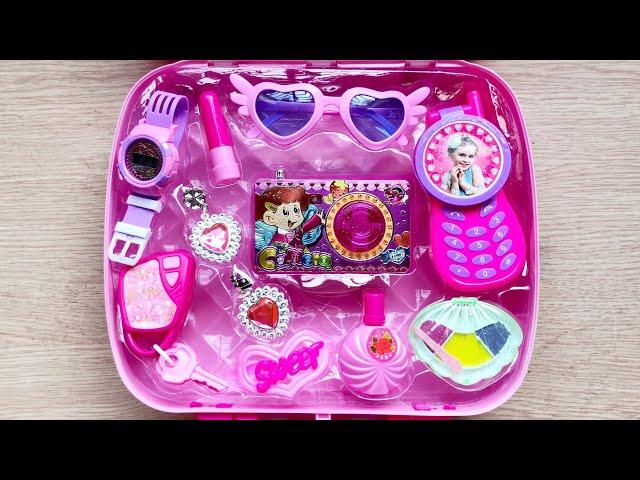 [Chim Xinh Channel] Đồ chơi trang điểm cho bé gái 11 món, máy chụp ảnh, son phấn, điện thoại..Make up toys (Chim Xinh)