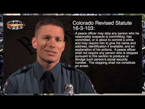 Colorado Springs Police Release First Amendment Training Video