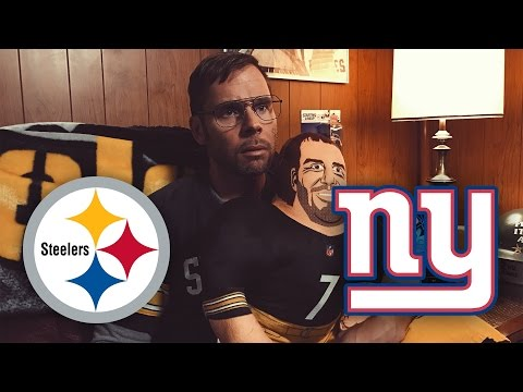 Dad Reacts to Steelers vs Giants (Week 13)