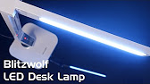 6013300bd05e Dimmable LED Desk Lamp With Colour Changing Base Review - YouTube