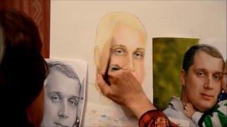 Уроки рисования портрета у Светланы Беловой