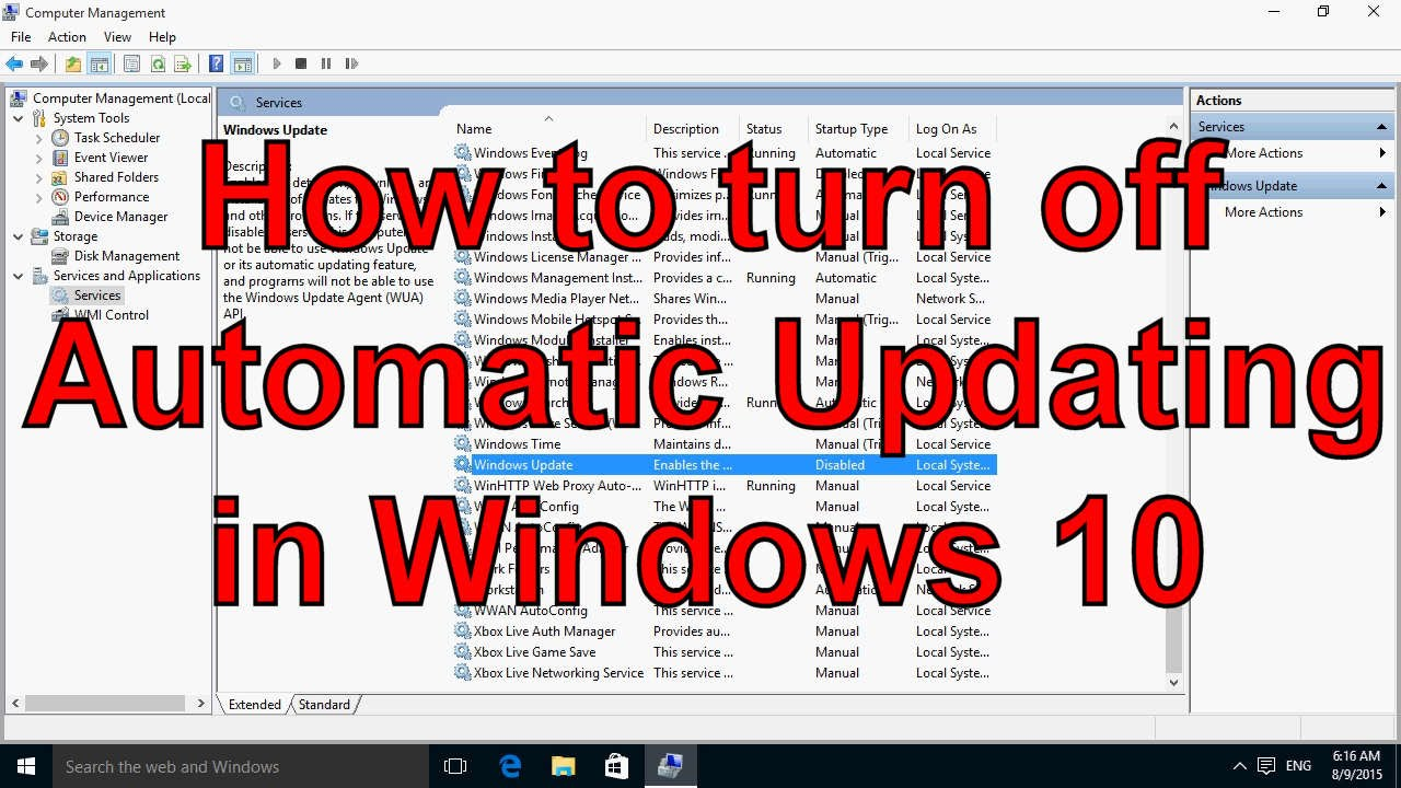 how to turn off auto updates on iphone how to turn automatic updating in windows 10 7627