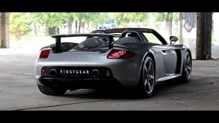 DRIVEN: Porsche Carrera GT w/ Straight Pipes | Hartvoorautos.nl | English Subtitled