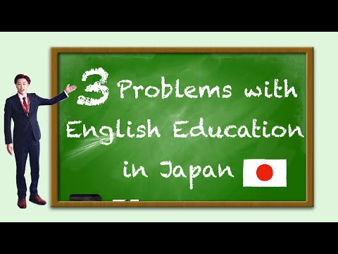 3 things I would change about English education in Japan