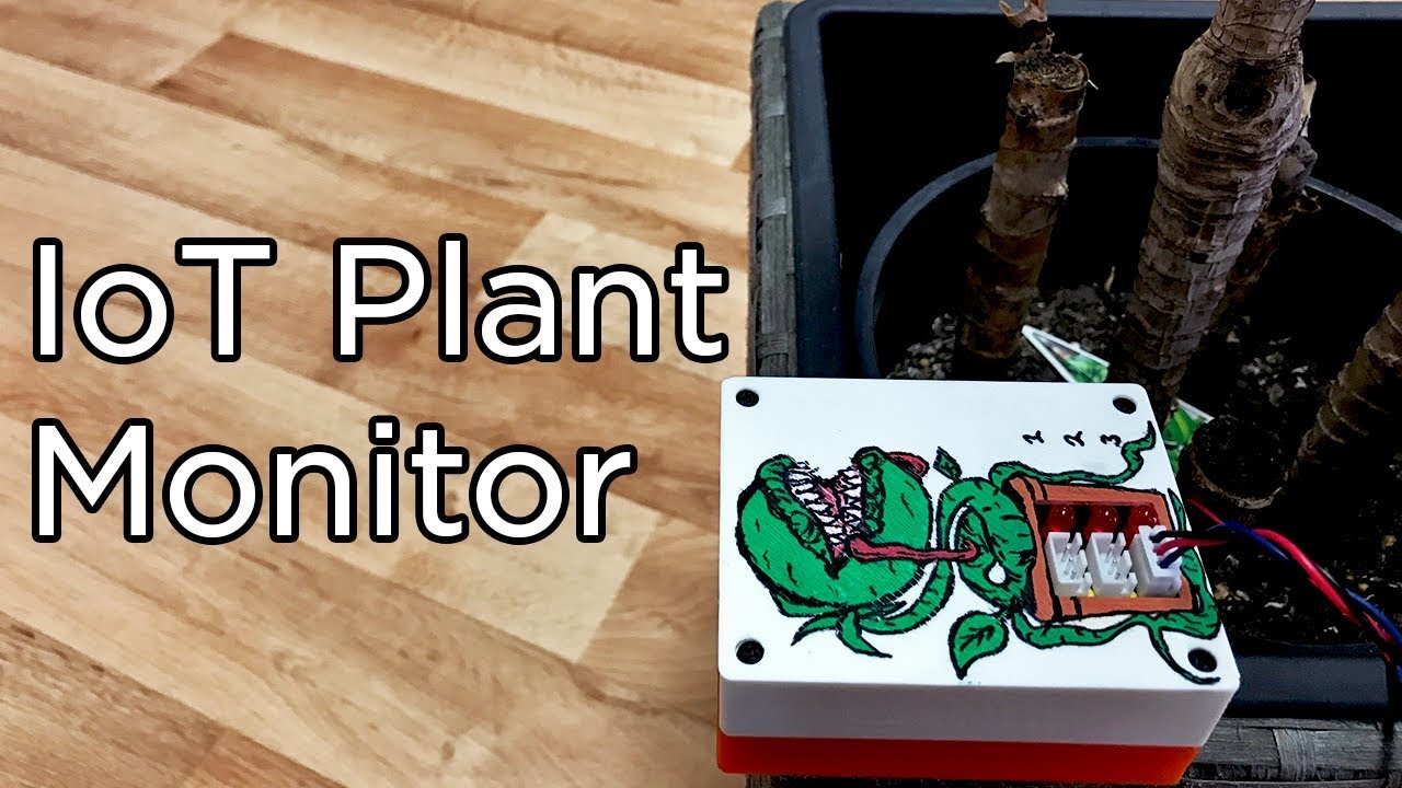 Smart plant monitor a diy internet of things iot project video related content solutioingenieria Image collections