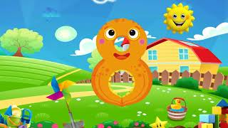 The Numbers 1 - 10 song   Numbers for kids Songs   Count One to Ten I 1 - 10 Numbers Rhymes