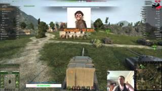 World of Tanks : Учусь играть ... TVP T50/51 , FV 4005 , STB-1