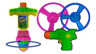 New Lightning Spinning Discs and Flyers - Toys for Kids