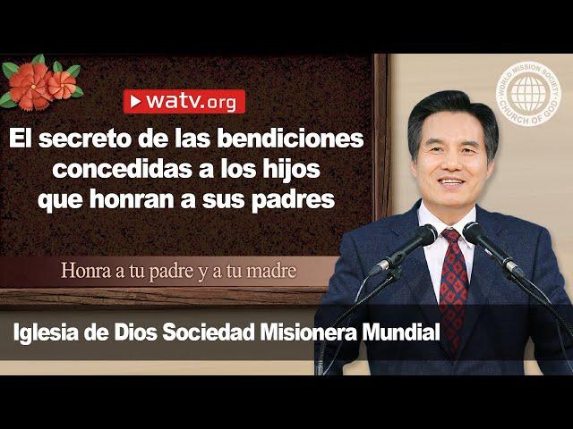 Honra a tu padre y a tu madre [Iglesia de Dios sociedad misionera mundial, Madre celesti]