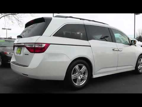 2012 honda odyssey passenger van touring elite petaluma rohnert park santa rosa novato youtube. Black Bedroom Furniture Sets. Home Design Ideas