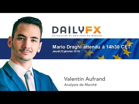 Mario Draghi attendu à 14h30 CET
