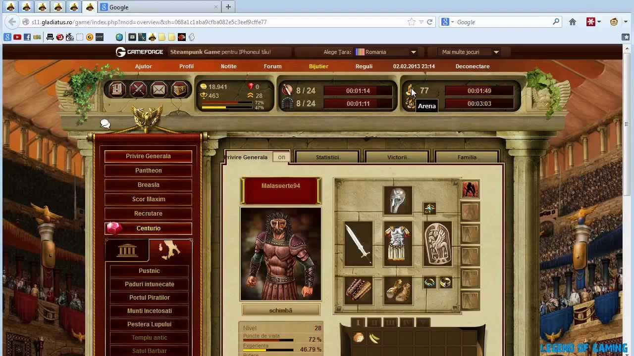 gladiatus addon google chrome