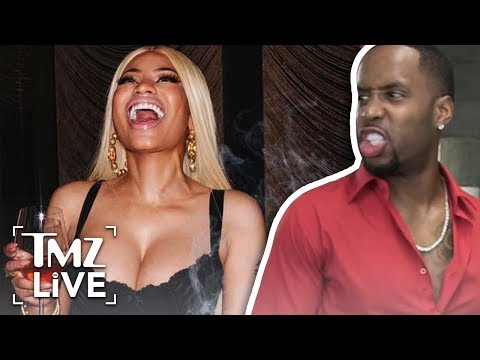 Nicki Minaj's Ex, Safaree, Claims She Tried To Kill Him | TMZ Live