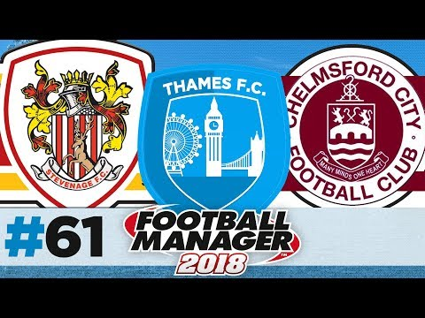 THAMES FC | EPISODE 61 | FA CUP PROPER | FOOTBALL MANAGER 2018