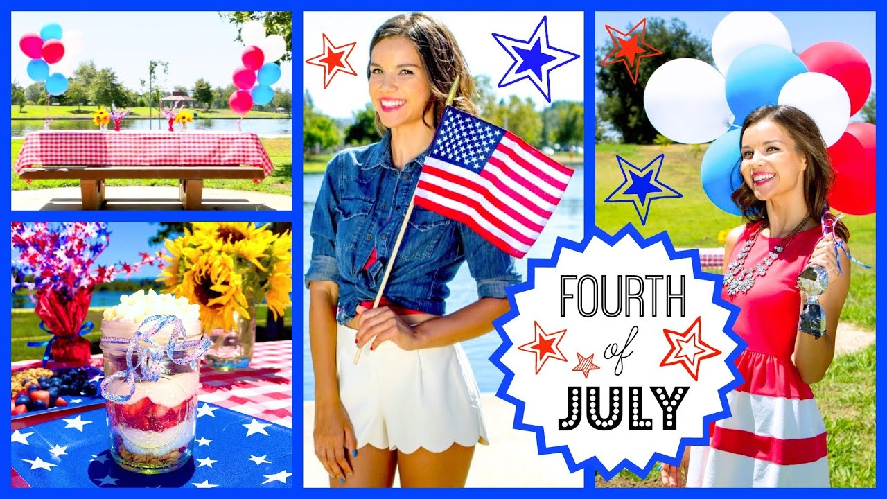 sc 1 st  YouTube & Fourth of July Outfit Ideas DIY Treats + Party Decor! - YouTube