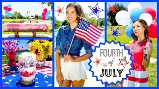 Fourth of July Outfit Ideas, DIY Treats + Party Decor! Thumbnail