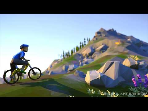 Lonely Mountains Downhill - Official Gameplay Trailer (New Adventure Biking Game 2018)