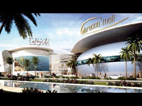 Morocco mall casablanca le plus grand centre for Centre commercial grand tour