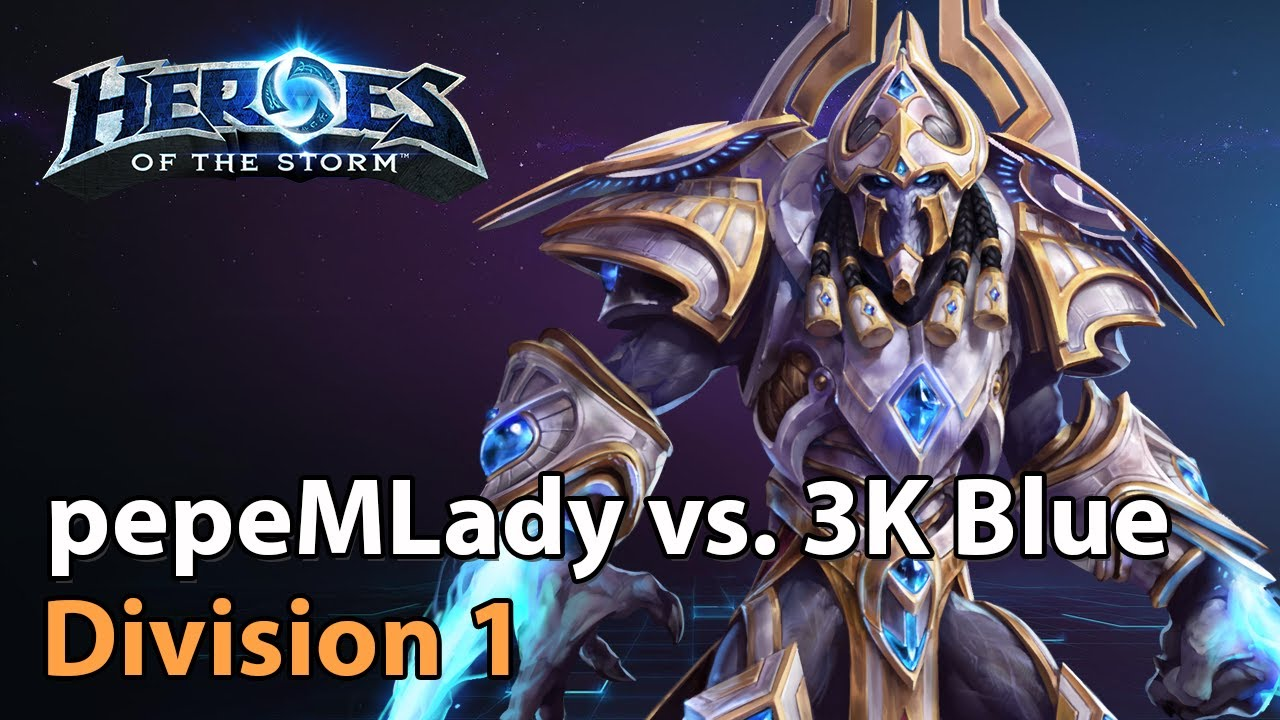 ► pepeMLady vs. 3K - Division 1 - Heroes of the Storm Esports