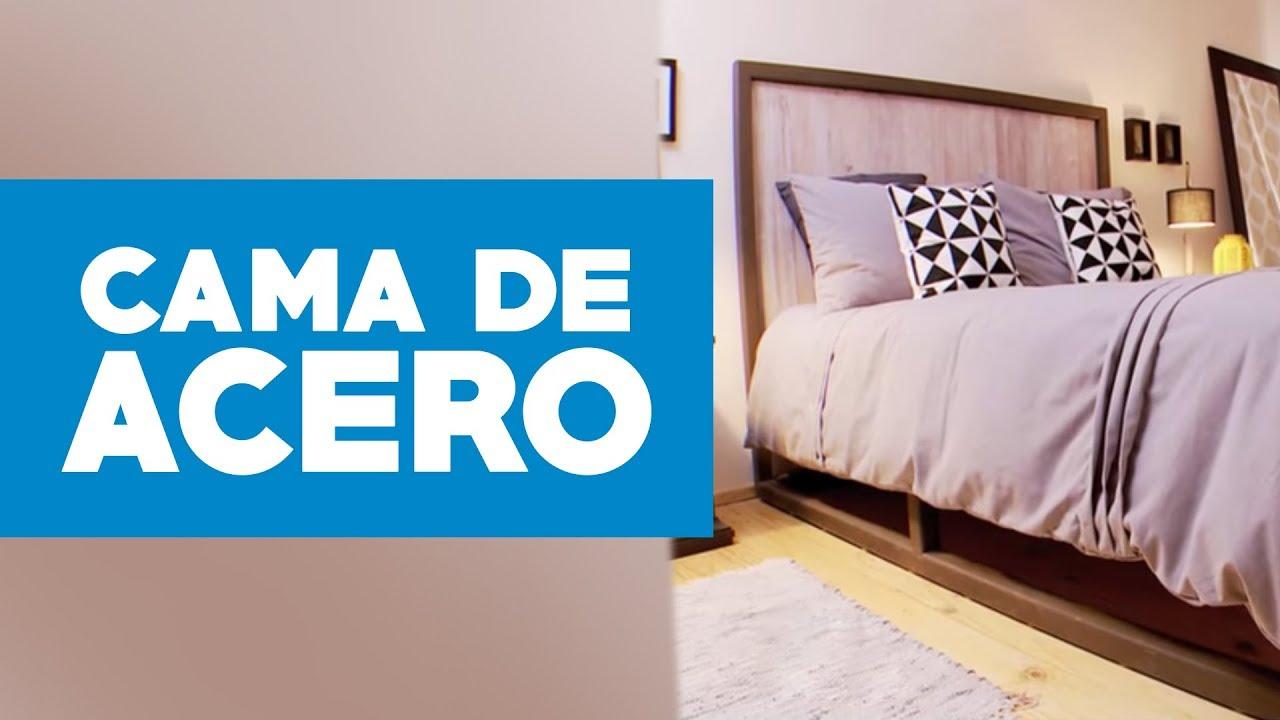 Cómo hacer una cama de acero? - YouTube