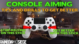 Rainbow Six Siege Tips || Console Aiming Tips and Drills