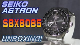 SEIKO ASTRON SBXB085/セイコー アストロンを開封&紹介!【UNBOXING&REVIEW】