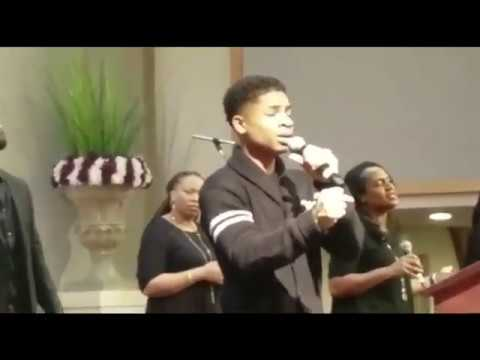 15yr old Caleb Carroll sings CoverTodd Dulaney Worship You ForeverHolyGhost Fire @calebcarroll2020