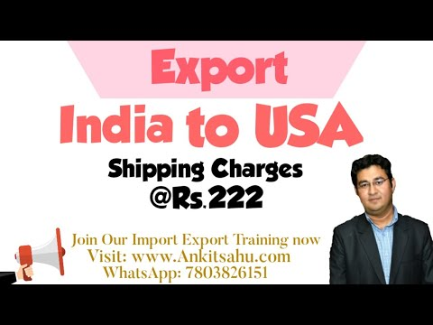 High Export Shipping Charges Is A Myth