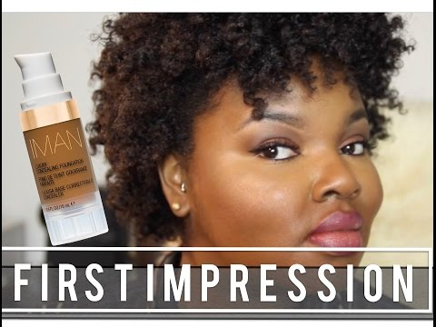 FIRST IMPRESSION - IMAN LUXURY CONCEALING FOUNDATION | CharyJay