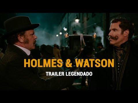 Assista o Trailer da Comédia HOLMES E WATSON de Will Ferrell