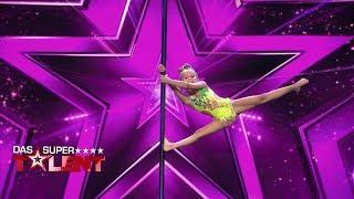 Kleiner Wirbelwind zeigt erstaunliches Talent!   Das Supertalent 2018   Sendung vom 01.12.2018