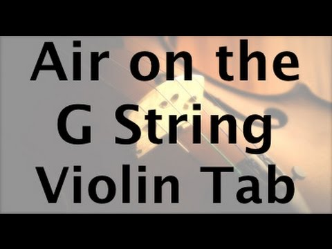 Learn Air on the G String on Violin  How to Play Tutorial