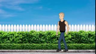 Моя первая анимация походки