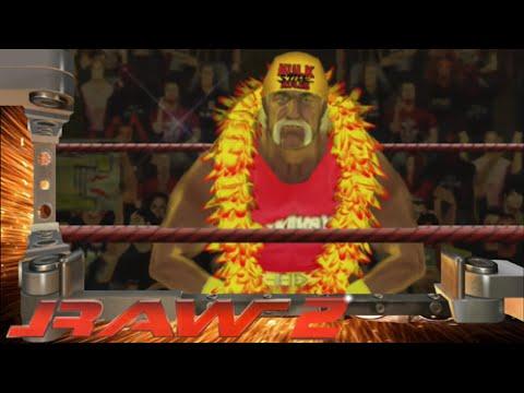 WWE RAW 2 Hulk Hogan Entrance - YouTube