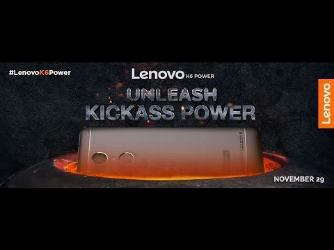 Lenovo K6 Power launch event  |  29th Nov
