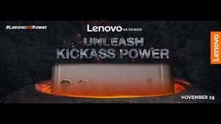 lenovo k6 power launch event   29th nov