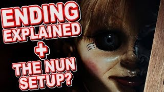 Annabelle 2 Creation Ending Explained Breakdown And The Nun Setup