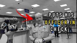 Deputy tries to arrest us fails Gets Dismissed & Walk of shame