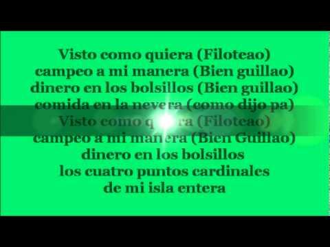 Campeo a mi manera con letra - Daddy Yankee