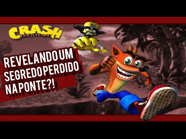 Crash Bandicoot de PS1 - Revelando o Segredo Perdido na Ponte - Gameplay