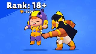 Rank 18 + Brawl Stars Funny Pose Horus Bo vs Rosa Animation #5