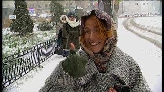 Зима близько: як Україна зустріла перший сніг