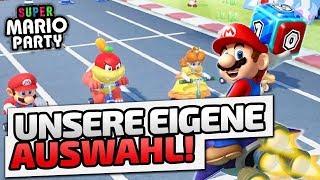 Unsere eigene Auswahl - ♠ Super Mario Party ♠ - Nintendo Switch - Dhalucard