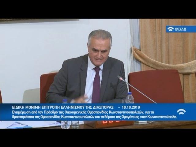 Συνεδρίαση της Επιτροπής Ελληνισμού της Διασποράς 2