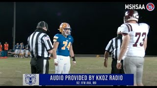 District Football | Ava vs Mountain Grove | 11-6-20 Full Game