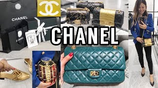 CHANEL Shopping Vlog! 🛍 Prices & Mod Shots   Shop with Me!