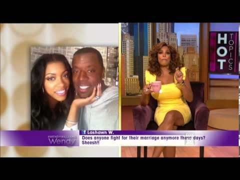 Wendy Williams comments on RH's Porsha Stewart's split from husband