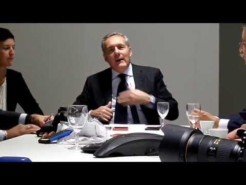 Paris MS - AutoBest round table with Alfredo Altavilla - CEO of FIAT