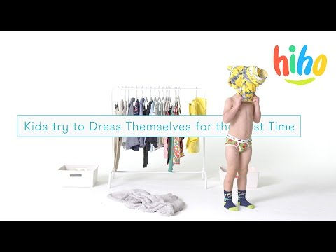 Thumbnail: Dress Themselves | Kids Try | Ep 17
