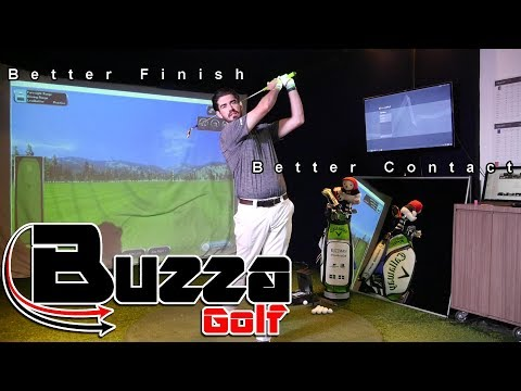 Where should you finish YOUR golf swing